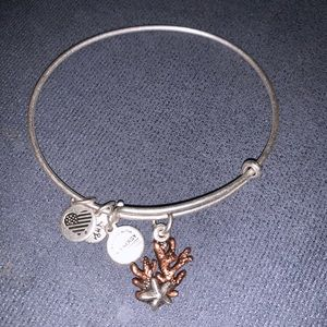 Alex and Ani Coral bangle